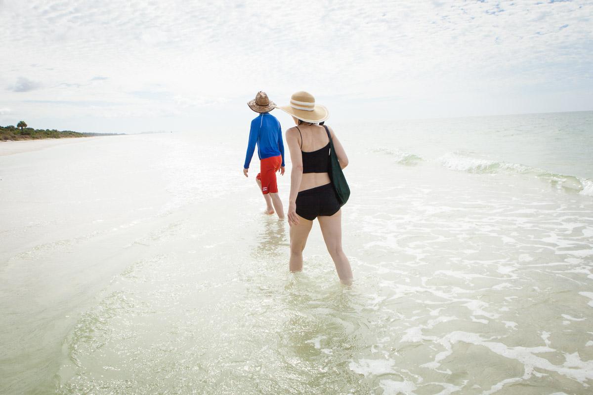 Keewaydin Island visit, Naples, Florida, November 2013.