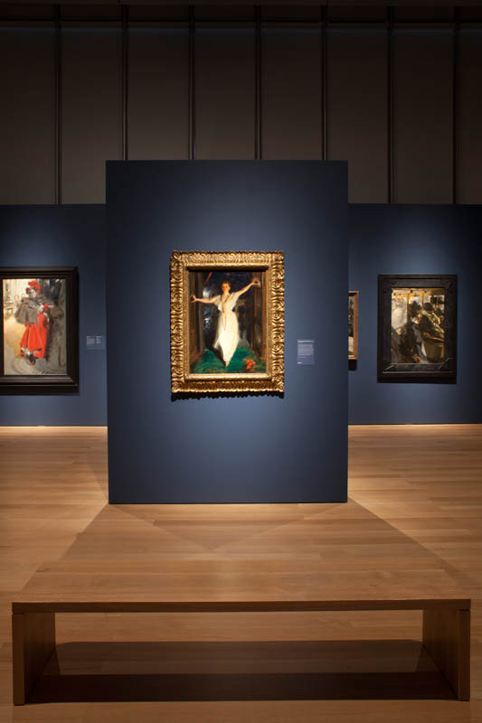 ISGM Anders Zorn Exhibition Design