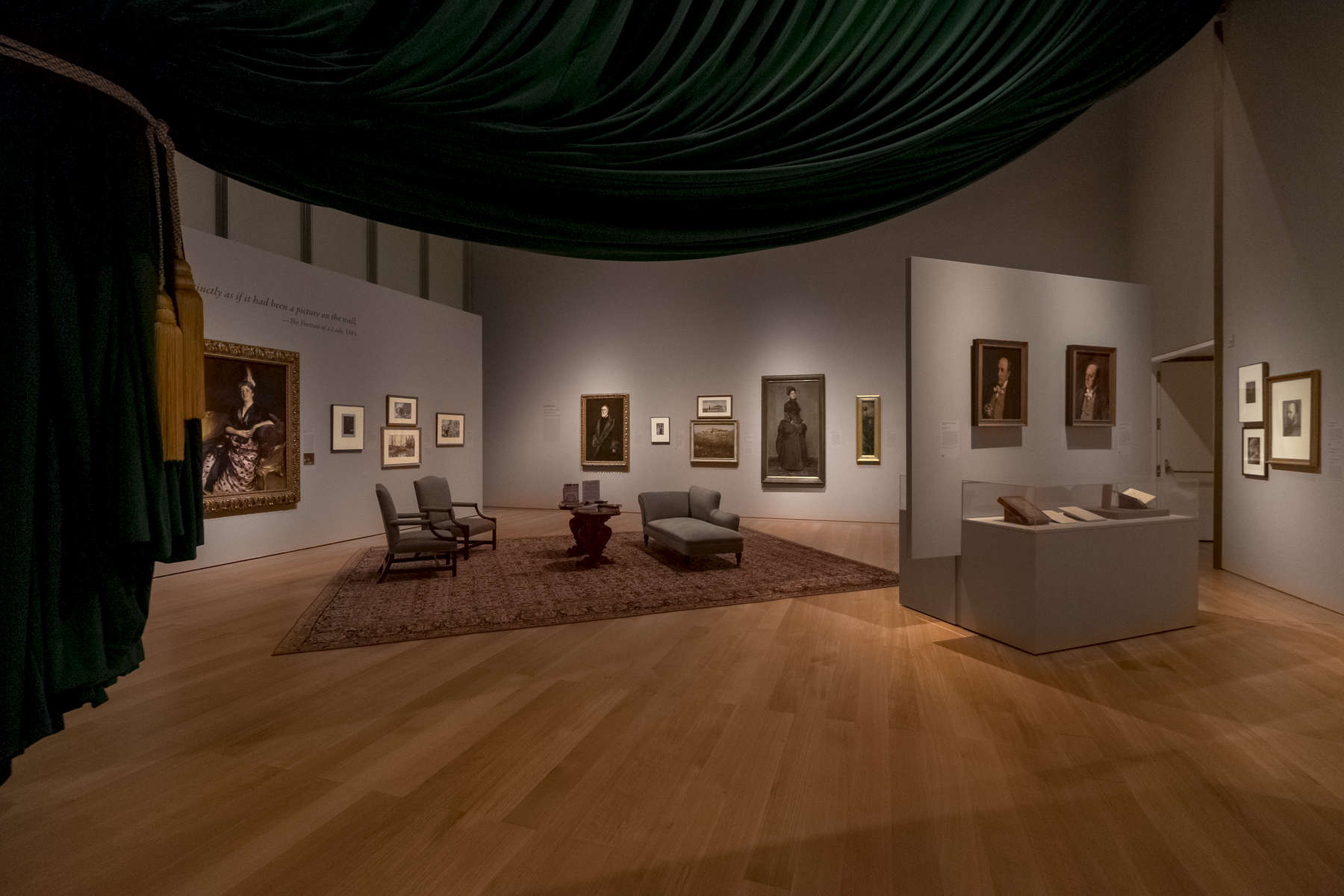 Henry James Exhibition at the Gardner Museum