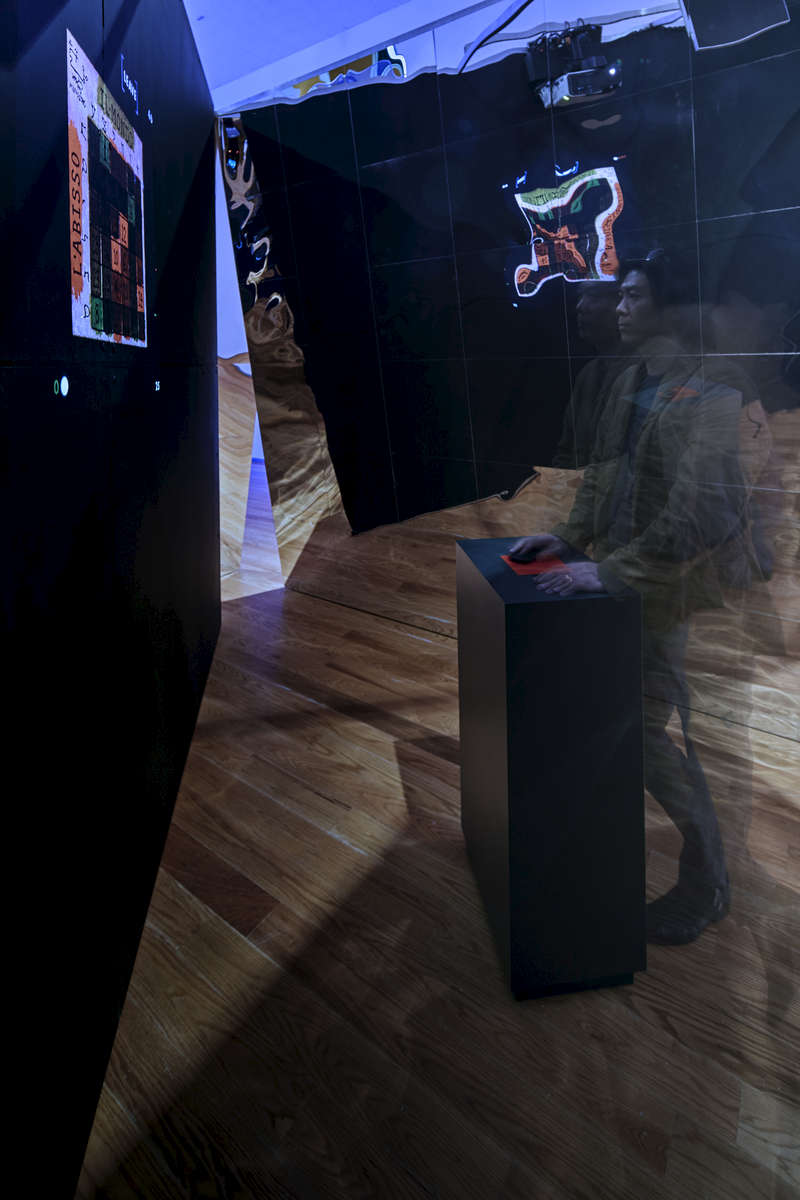 ikd was hired for the installation and exhibition design of The Game Worlds of Jason Rohrer at the Davis Museum at Wellesey College. This show is the first known exhibition devoted to a single video game designer.