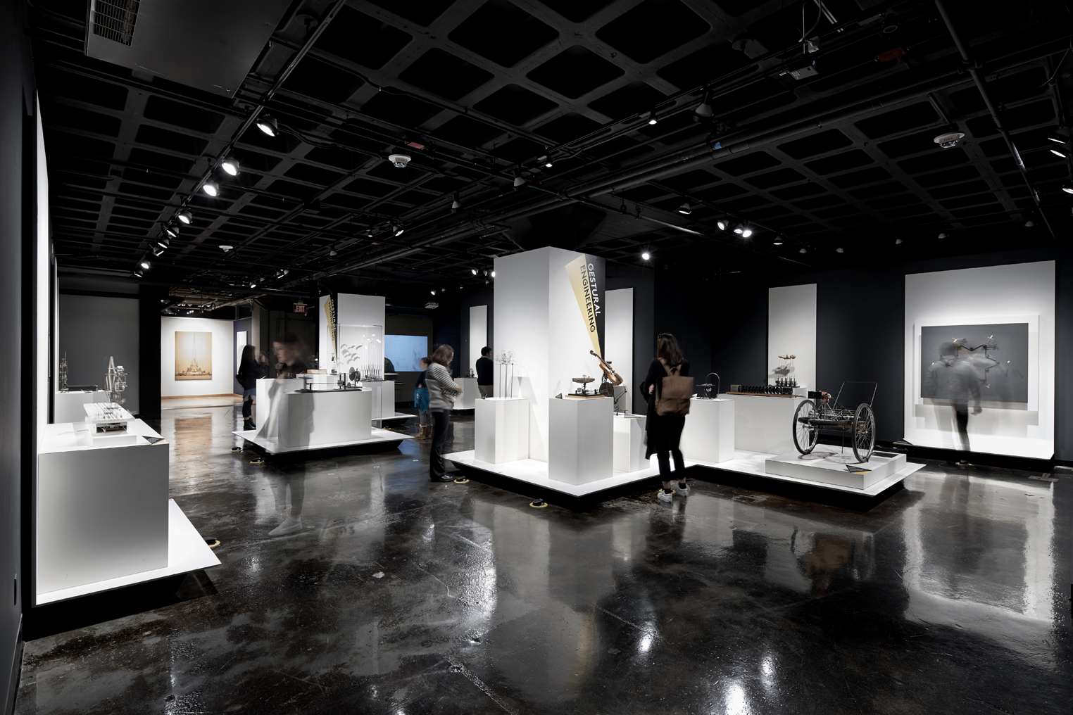 IKD was hired by the MIT museum to design the renovation and reinstallation of the Arthur Ganson gallery.