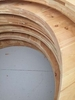Conversation Plinth Hardwood CLT Mockup
