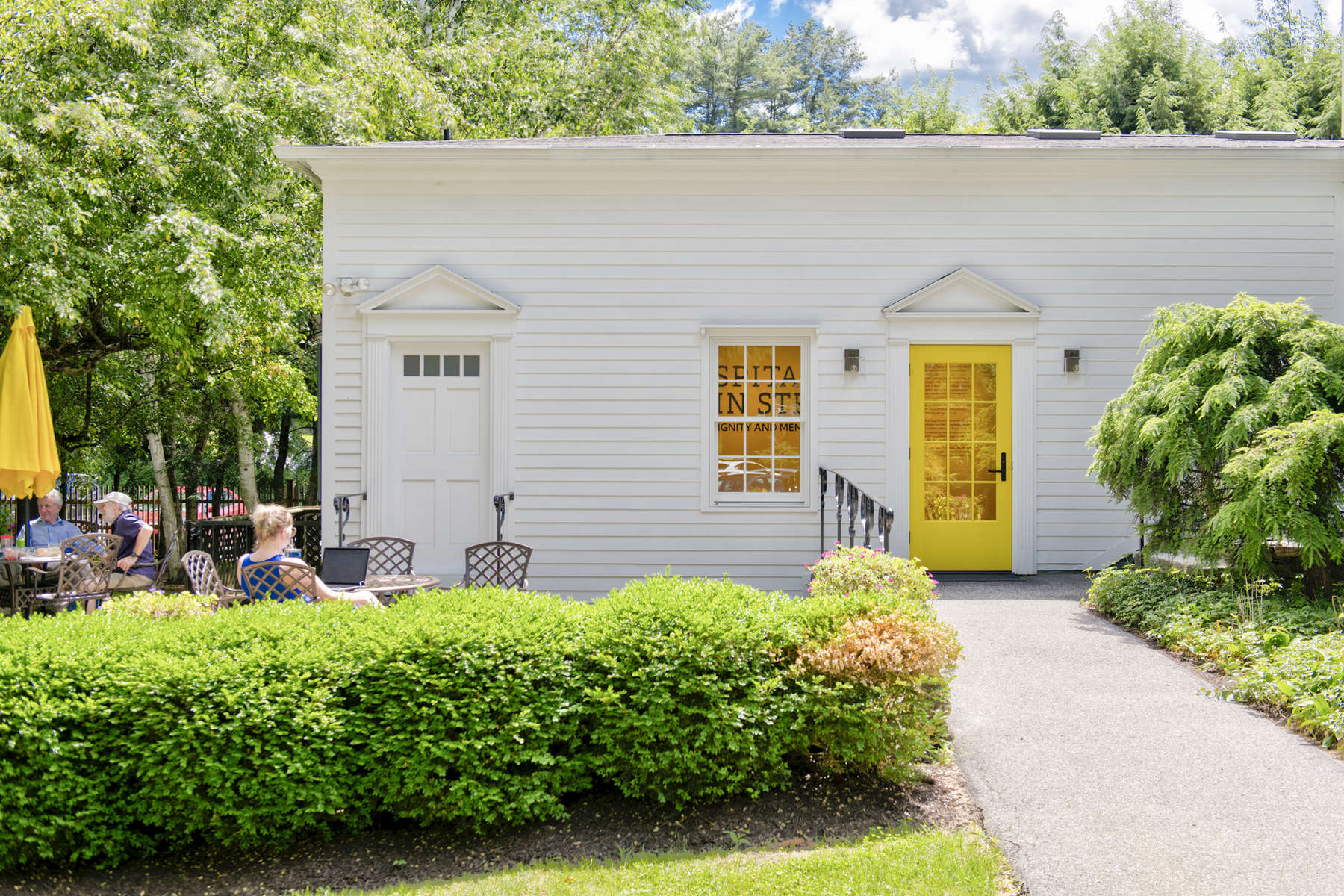 Austen Riggs is a voluntary, therapeutic long term residential community with an emphasis on intensive psychotherapy paired with a place for intellectual scholarship based in the Bershires. 2019 will mark it's 100th year of operation. IKD was charged to fully renovate an existing structure to house a new public gallery space that will be home to a permanent exhibition that celebrates the long history and values of the center. IKD is acting as the design architect, exhibition, and graphic designer for this project in partnership with Pam  Sandler Architects.