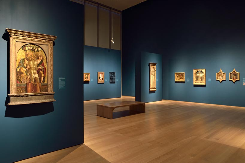 IKD was hired by the ISGM to design the recent Crivelli Exhibition.