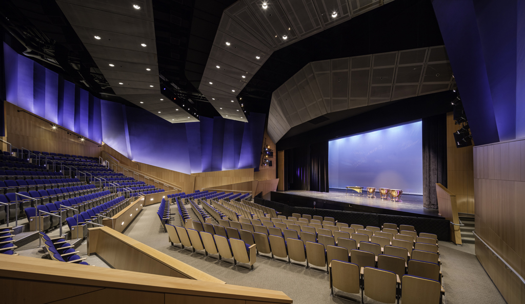Yugon Kim has completed the design of the Guilford High School Performance Arts Center with TSKP studio