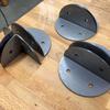 Custom Metal Brackets for Davis Museum Installatio