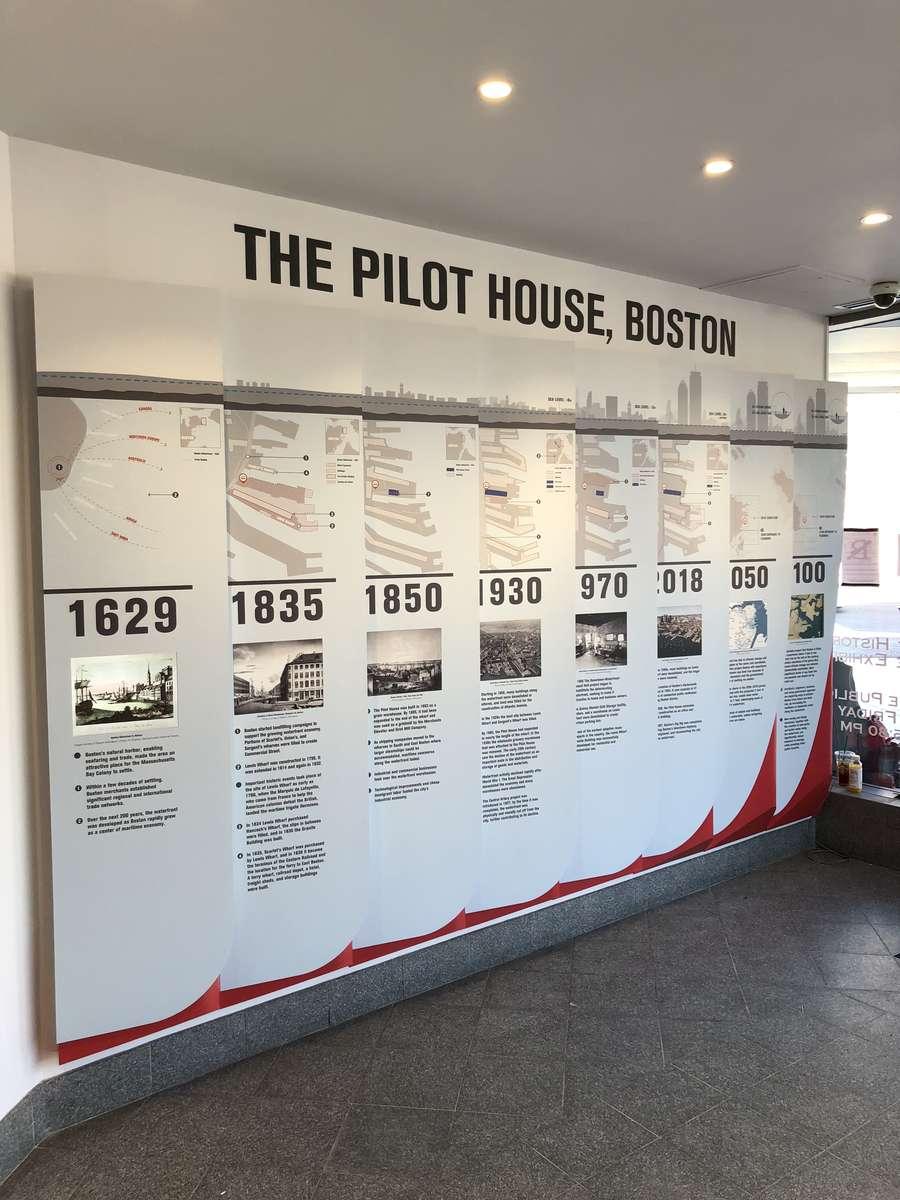 Pilot House Public Gallery renovation