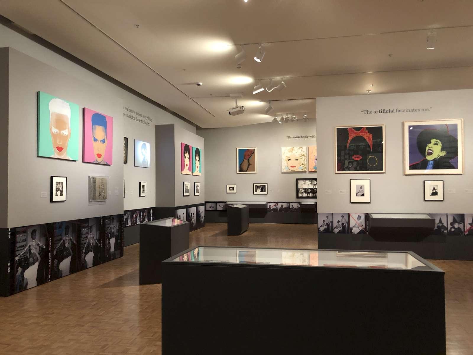 Contact Warhol Exhibition @ Cantor Arts Center