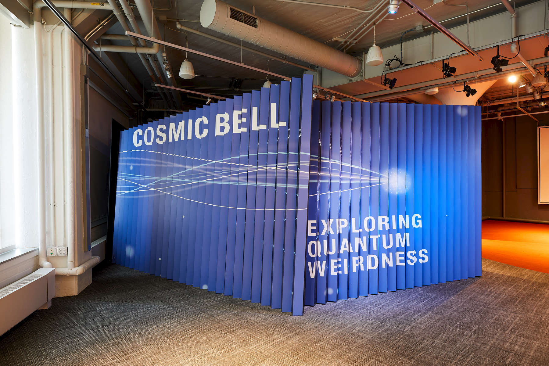 MIT Museum Cosmic Bell Installation