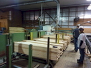 Indiana Hardwood CLT material processing