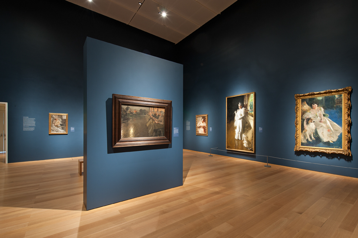ISGM Anders Zorn exhibition