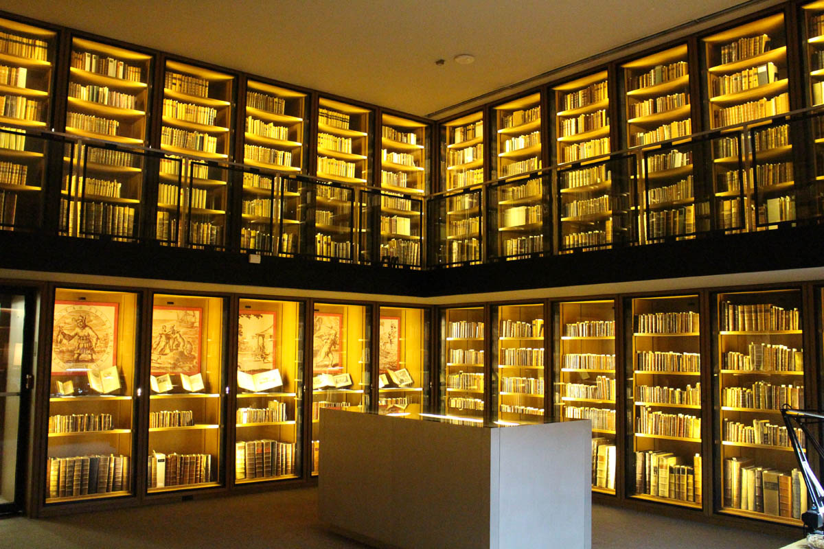 BPL rare books display room renovation