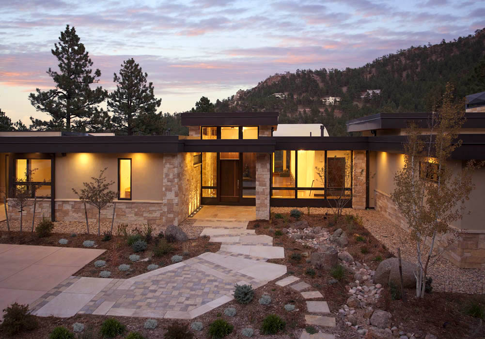 Mountain Living: contemporary homes: Mosaic Architects ...