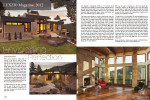 LUXZIO, spread (November 2012){quote}We work closely with our clients from the very start of the design process to help them understand the full lifecycle that building products go through, before they arrive at the final building site.{quote}Jane Snyder