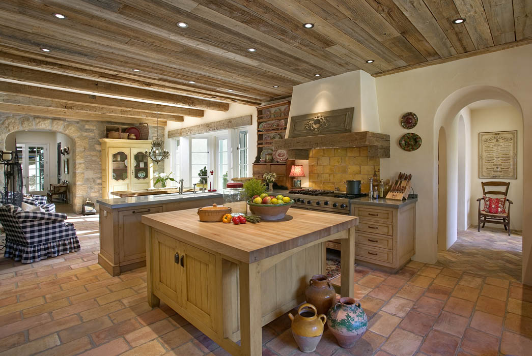 rustic kitchen: traditional homes: mosaic architects | boulder