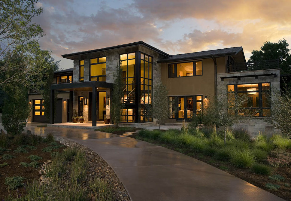 Contemporary Homes Mosaic Architects Boulder Colorado