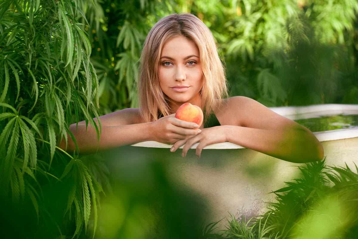 Shot for Hemp Farms AustraliaModel: Ariana Merinda