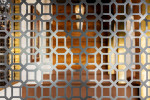 Precision Engineering, by Shahil MaharajInterior shot of lattice work at Byblos, Brisbane.