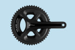 Shimano 105 5800 Hollowtech Crankset with 52-36t chainrings.