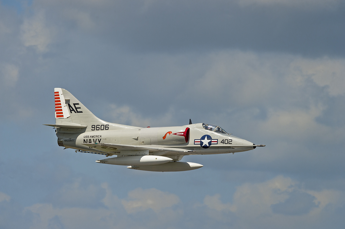 Douglas A-4 Skyhawk at theSpace Coast Warbird Airshow in FloridaImage no: 15-016556    Click HERE to Add to Cart