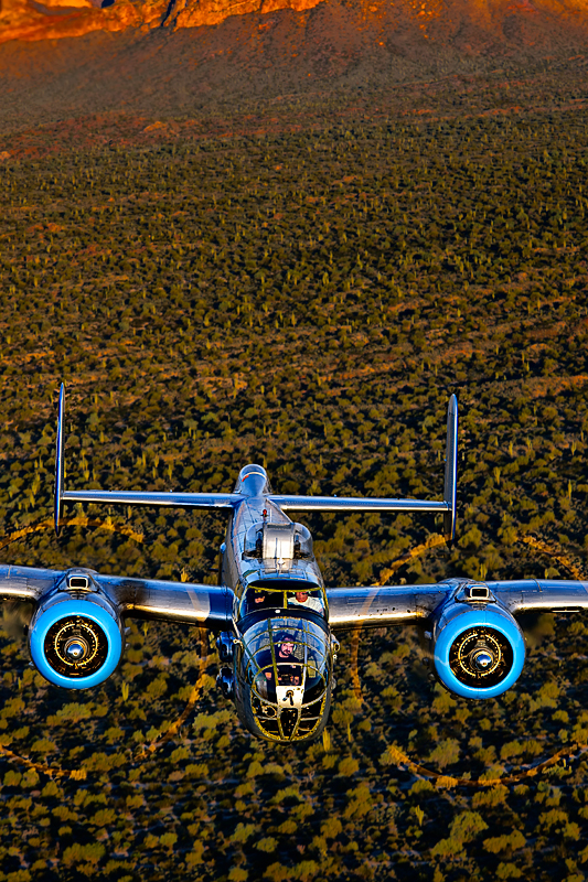 B-25 Mitchell - {quote}Maid in the Shade{quote},Image no: 12-003961NOT FOR SALE - CAF Arizona Wing have copyright to B-25 {quote}Maid in the Shade{quote}