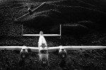B-25 Mitchell {quote}Maid in the Shade{quote} & P-51 Mustang {quote}Cripes A' Mighty{quote}Image no: 12-00390245.bw  NOT FOR SALE - CAF Arizona Wing have copyright to B-25 {quote}Maid in the Shade{quote}