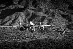 B-25 Mitchell {quote}Maid in the Shade{quote} & TBM AvengerImage No: 12-003825.bw  NOT FOR SALE - CAF Arizona Wing have copyright to B-25 {quote}Maid in the Shade{quote}