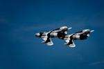Black Diamond Jet Team flying Russian Mig-17s and l-29 Albatros' in Arctic Camouflage paint