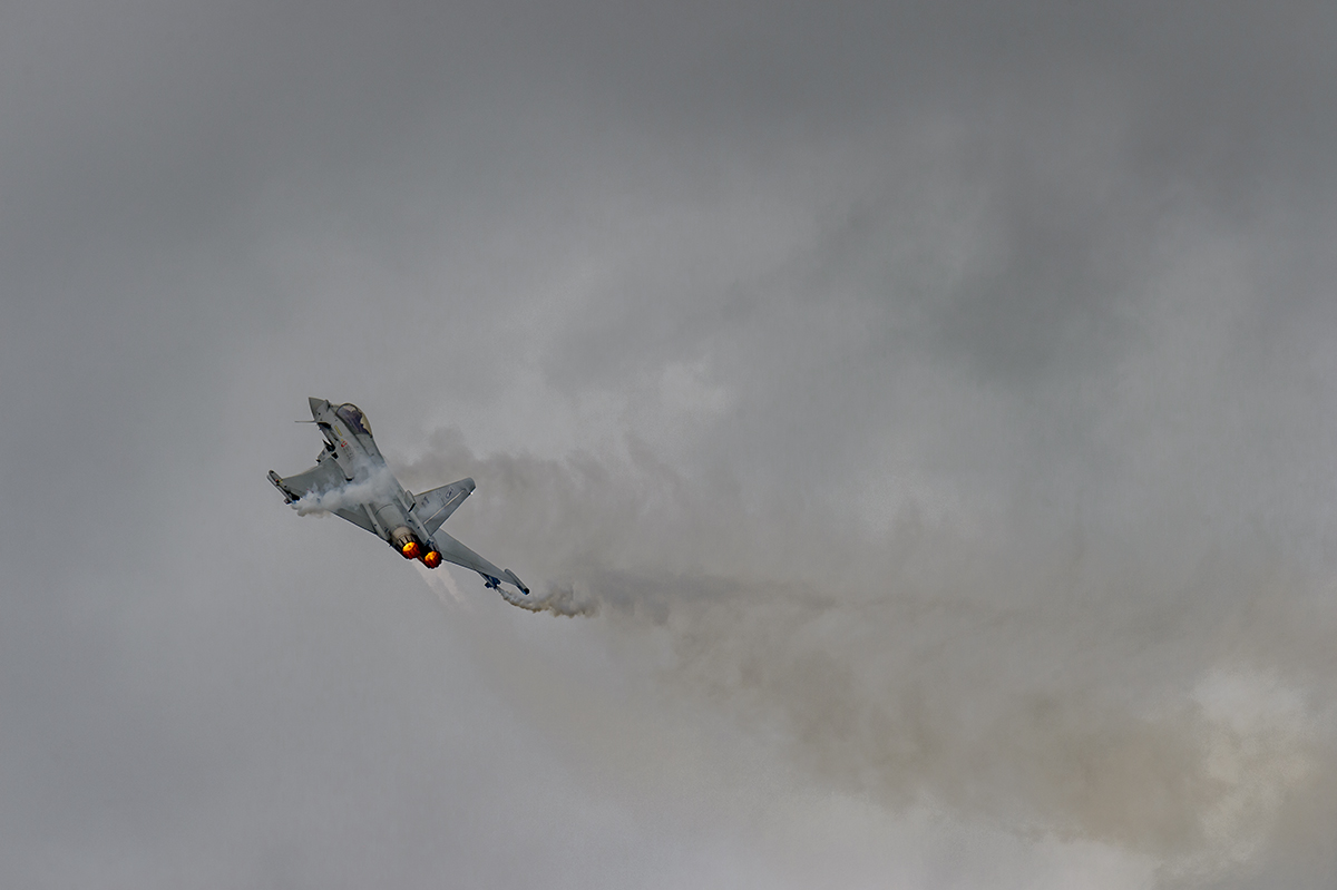 Aviation photography from RIAT RAF Fairford, EnglandItalian Air Force Eurofighter Typhoon F2000A Image no: 16-024577  Click HERE to Add to Cart