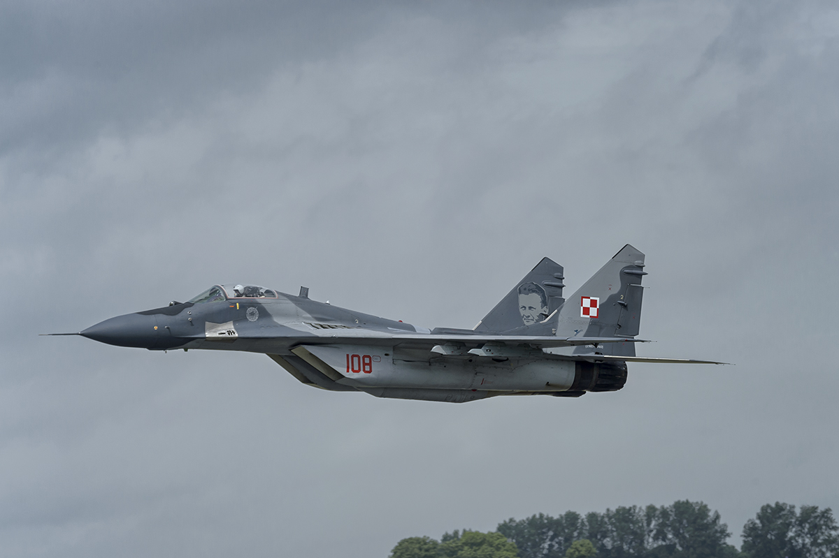 Mikoyan MiG 29AAviation photography from RIAT RAF Fairford, EnglandImage no: 16-020699   Click HERE to Add to Cart