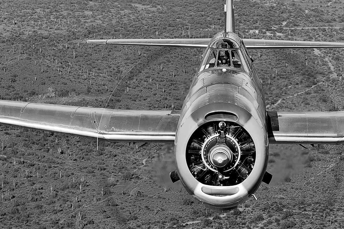 The Pilots make it all happen.Image No: 12-003595.bw  Click HERE to Add To Cart