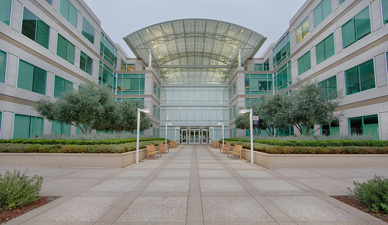 Apple Computer's world headquarters. Cupertino, CA