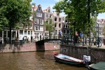Daily life in Amsterday, The Netherlands