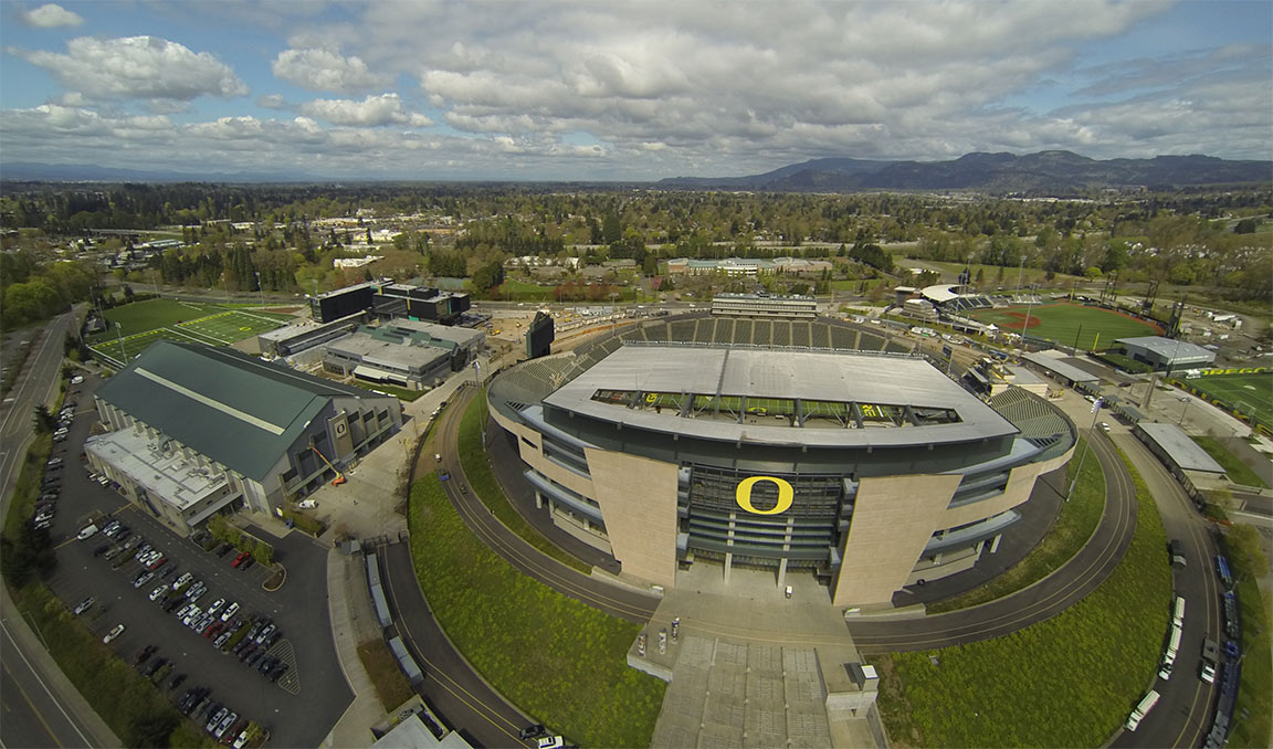 Home of the Oregon DucksEugene, Oregon