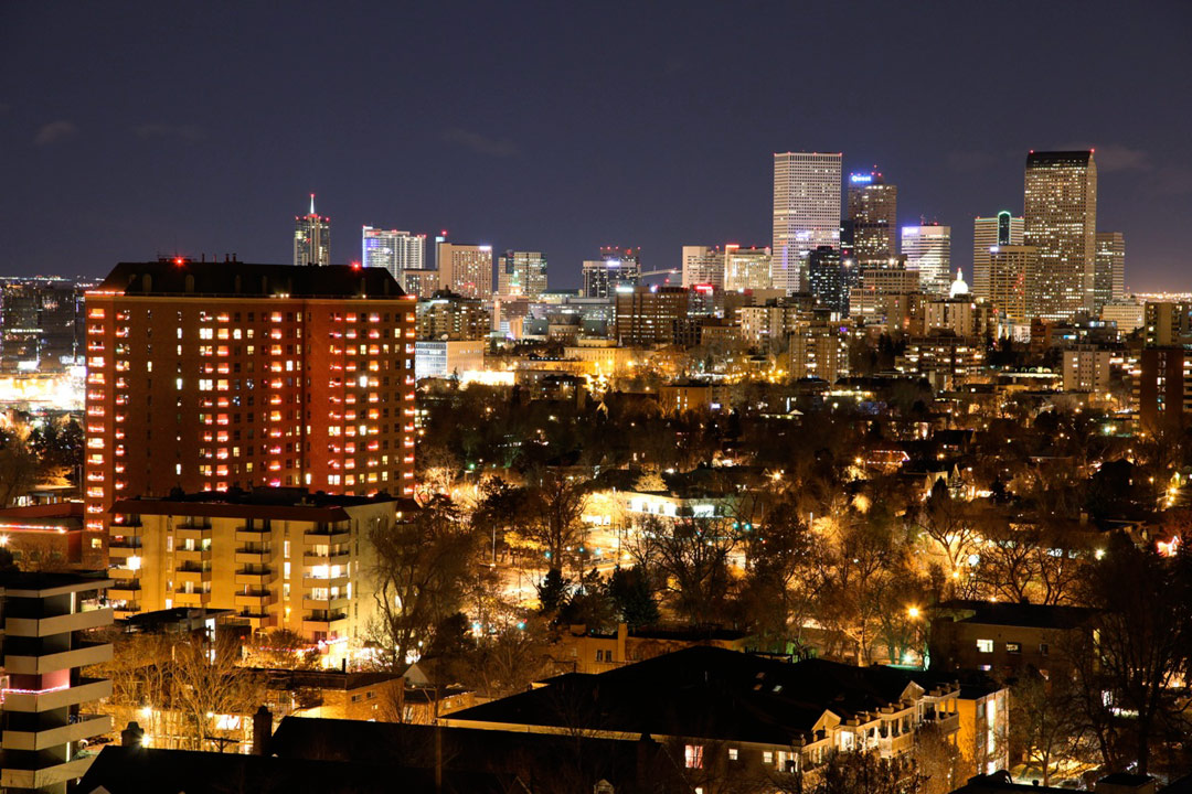 Denver Skyline - Denver, CO