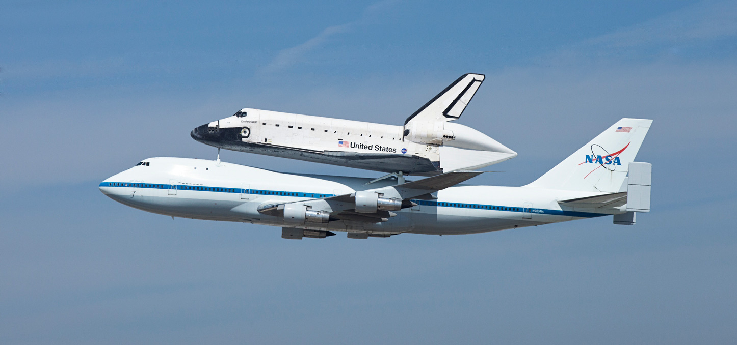 Endeavour, built as a replacement for space shuttle Challenger, completed 25 missions, spent 299 days in orbit, and orbited Earth 4,671 times while traveling 122,883,151 miles. Beginning Oct. 30, the shuttle will be on display in the California Science center's Samuel Oschin Space Shuttle Endeavour Display Pavilion, embarking on its new mission to commemorate past achievements in space and educate and inspire future generations of explorers.September 21st 2012 - LAX - Los Angeles, CA