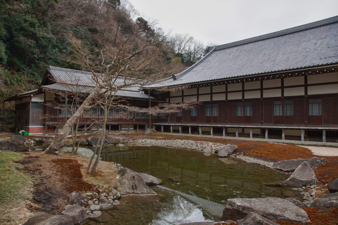 Zuirokuzan Engaku Kōshō Zenji is one of the most important Zen Buddhist temple complexes in Japan. It was founded in 1282.  Kamakura, in Kanagawa prefecture - Japan