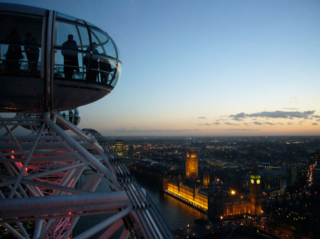 Hands down the best view of London. London, England
