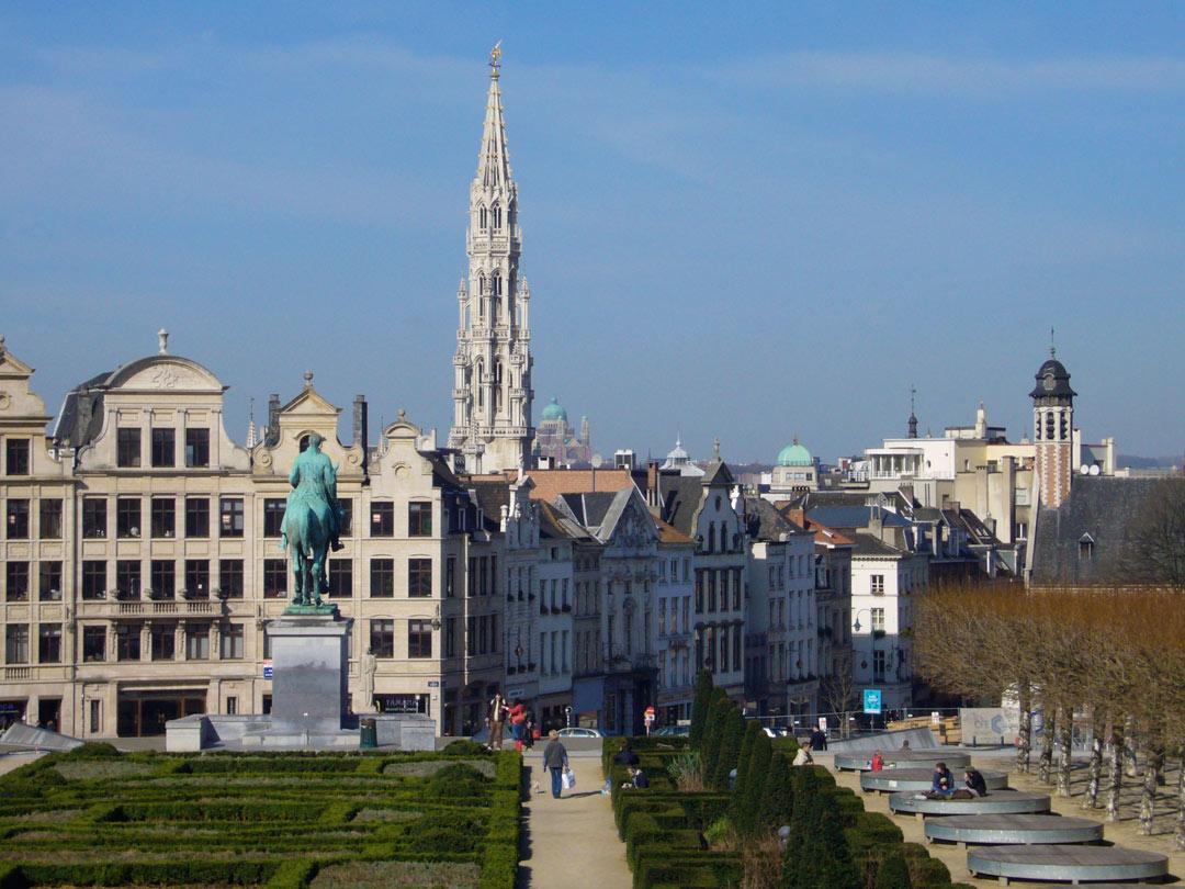 Brussels Skyline - Brussels, Belgium