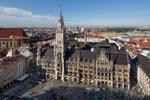 A view of Marienplatz in Munich
