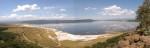 A panoramic view of Lake Nakuru - Kenya
