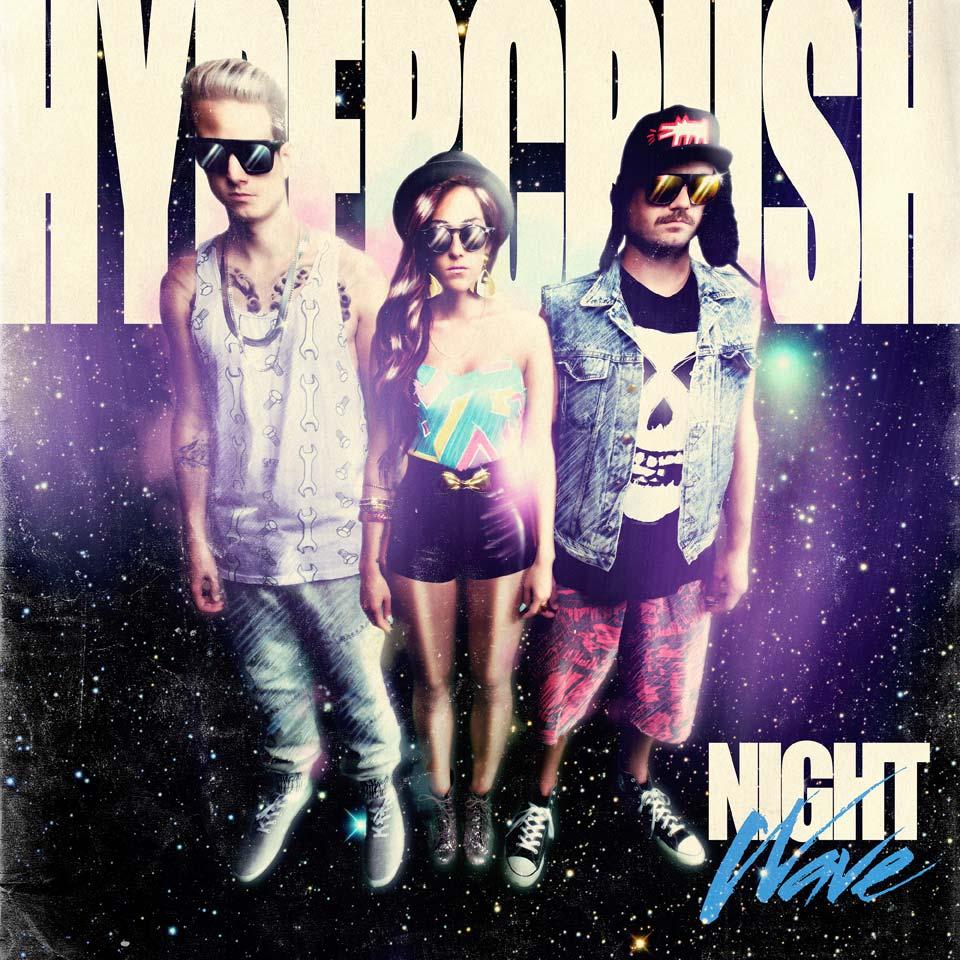 Hyper Crush's newest album, Night Wave