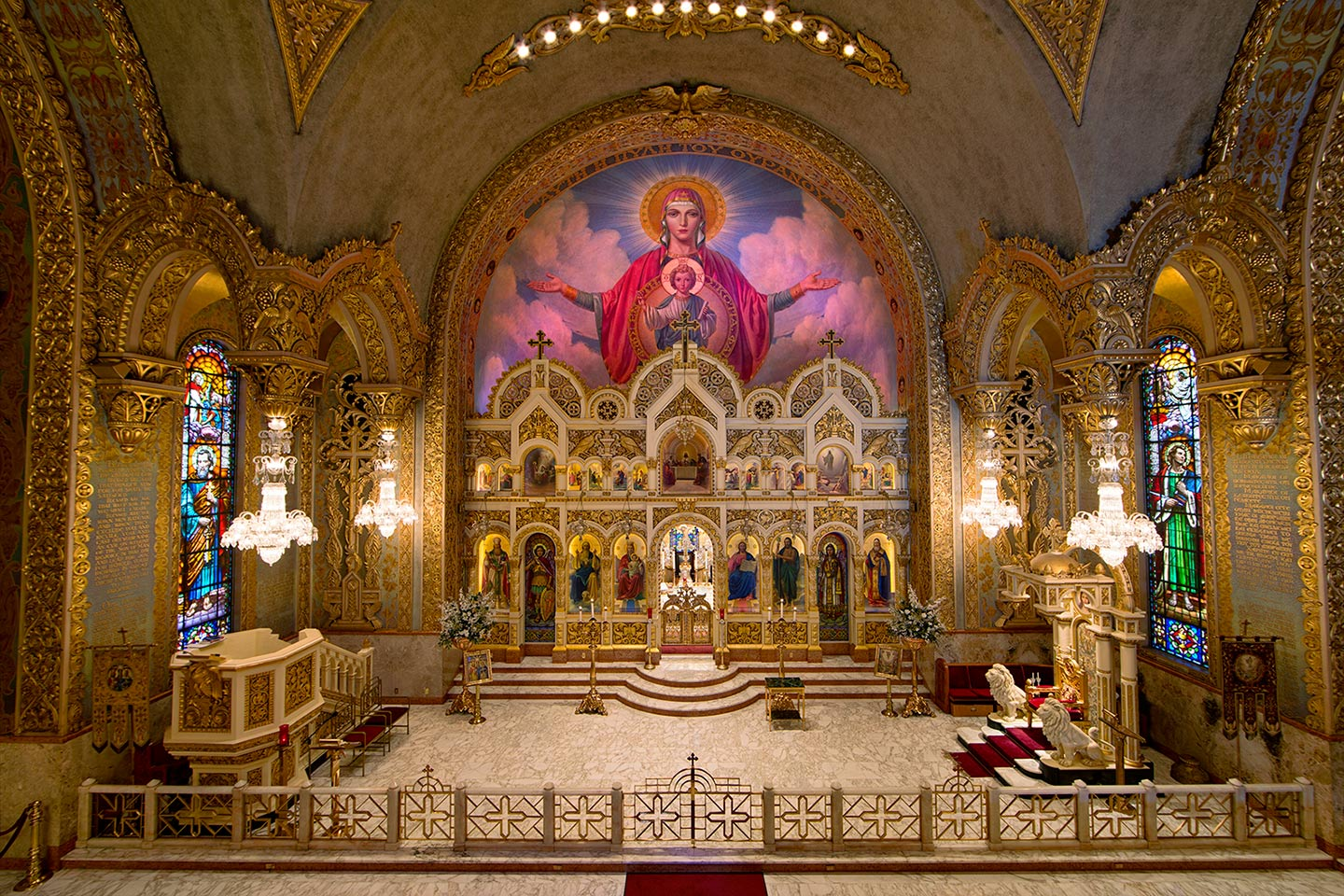 Saint Sophia Greek Orthodox Cathedral is a Greek Orthodox church built in 1952, in what was then the Greek section of Central Los Angeles, California.