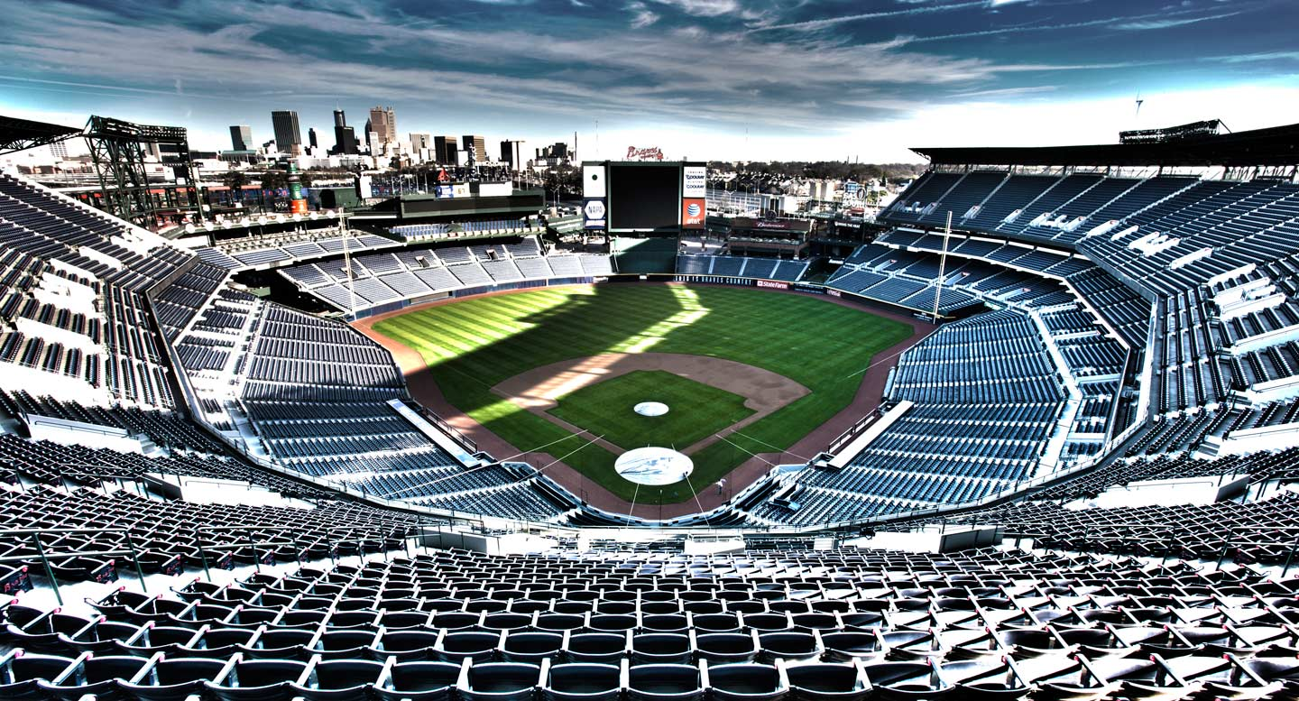 Turner Field, Home of the Braves - Atlanta, Georgia