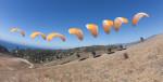 George takes to the sky - More Mesa, Santa Barbara, CA
