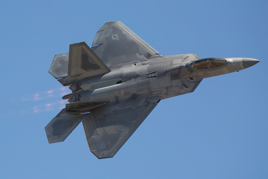 F-22 Raptor - Chino Airport, California