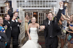 The groom shares his true excitement after getting hitched to the love of his life