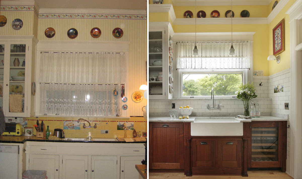IMAGE GALLERIES: Residential Gallery: Kitchens: 1900-1919: annamerrit-q -1913-kitchen-ba1