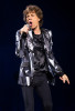 Mick Jagger of the Rolling Stones performs at the Wells Fargo Center in Philadelphia.