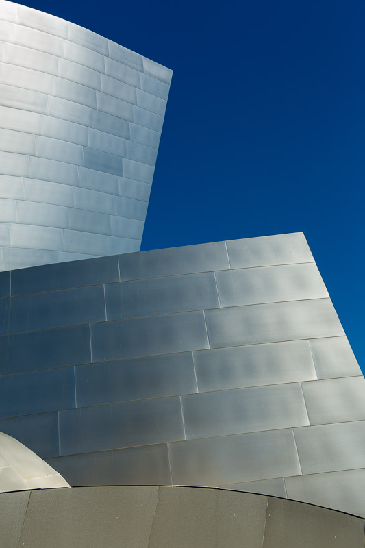 Walt Disney Concert Hall in Los Angeles, California.